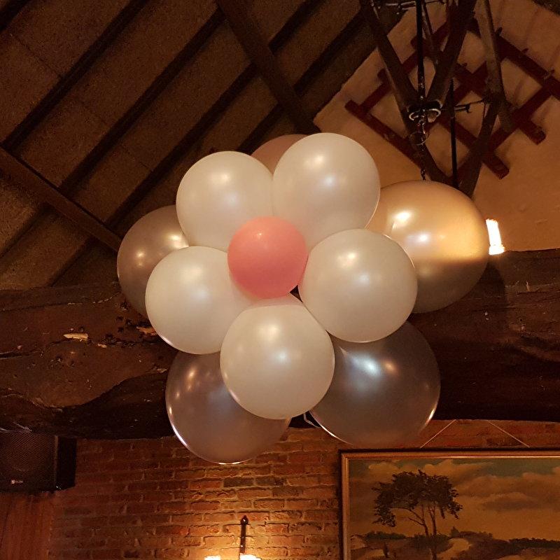 Ballonnen bloem