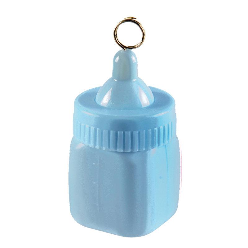 Ballongewichtje blauwe fles