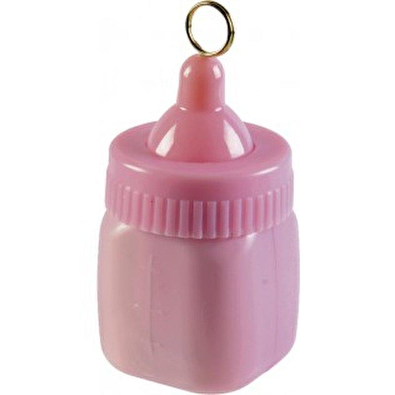 Ballongewichtje roze fles