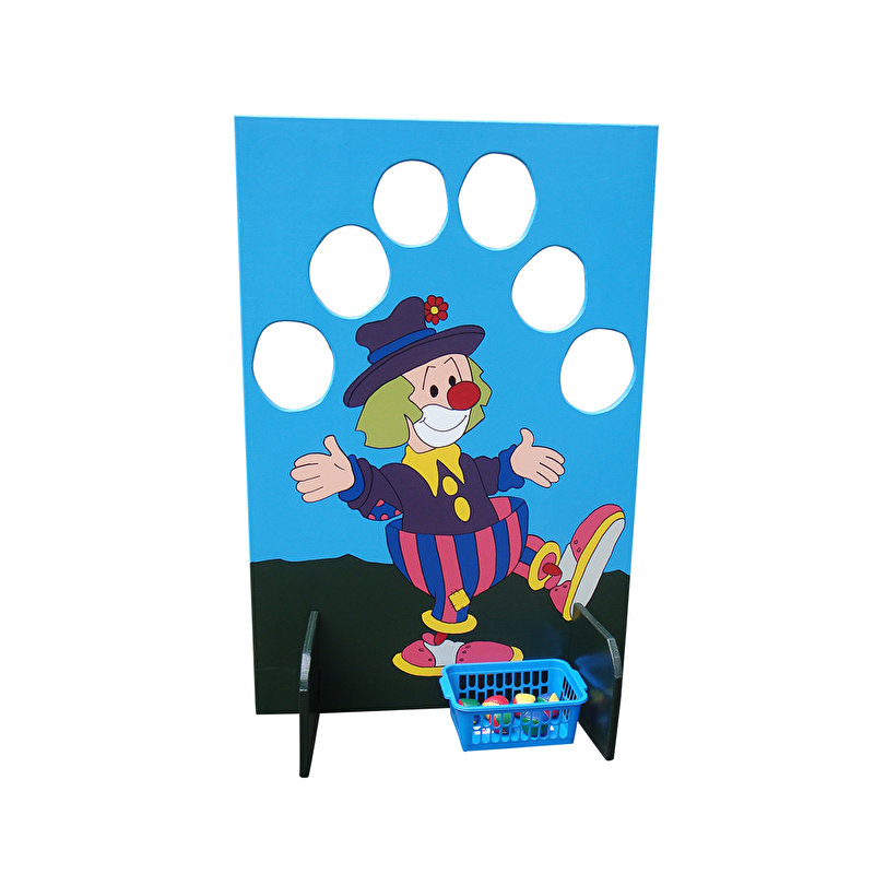 Ballengooien clown