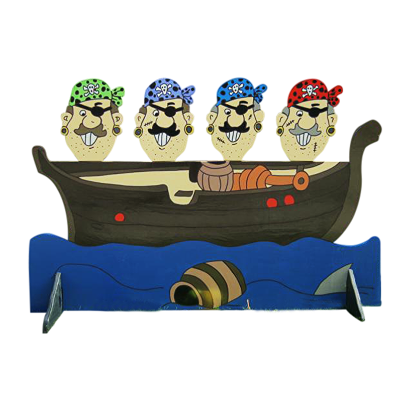 Piratenkoppen gooien
