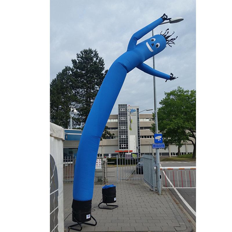 Blauwe skydancer