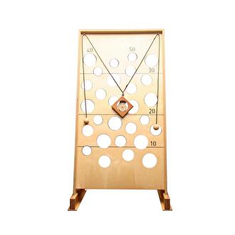 Oud hollandse spellen verhuur. Het gatenkaas spel is een behendigheidsspel voor jong en oud.