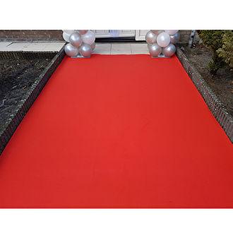 Rode loper Bergen op Zoom. Rode loper kopen in vele kleuren en maten.