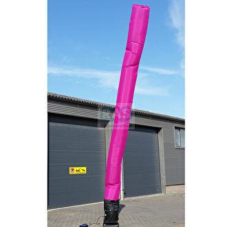 Roze skytube huren. Een skytube kunt u huren in vele kleuren. Ras Feestverhuur Bergen op Zoom.