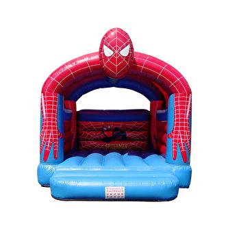 Springkussen kopen. Altijd al uw eigen springkussen willen hebben ? Ons spiderman springkussen kunt u nu kopen.