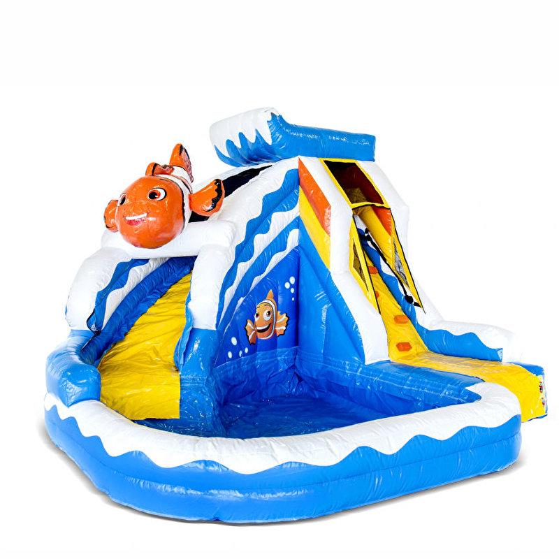 Splashy Nemo met zwembad